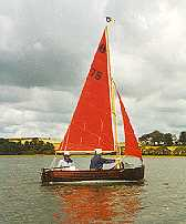 Classic dinghy - This is a Tideway dinghy